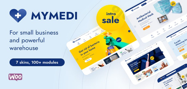Item cover for download MyMedi - Responsive WooCommerce WordPress Theme