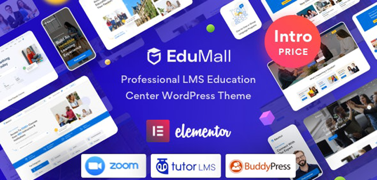 Item cover for download EduMall - Professional LMS Education Center WordPress Theme